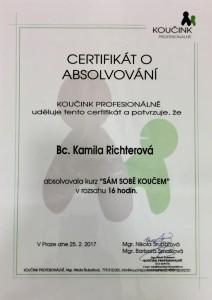 Certifikát SSK